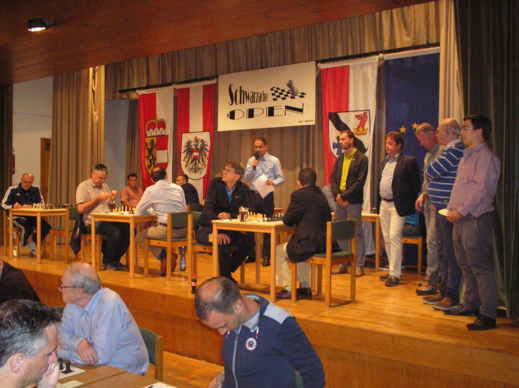 Schwarzacher open, 19. - 26. 8. 2017.